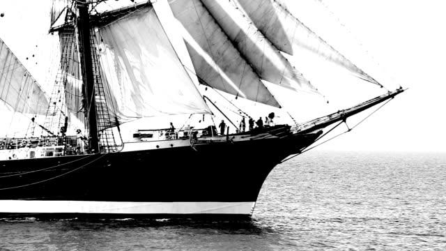 beautiful sailing barque video