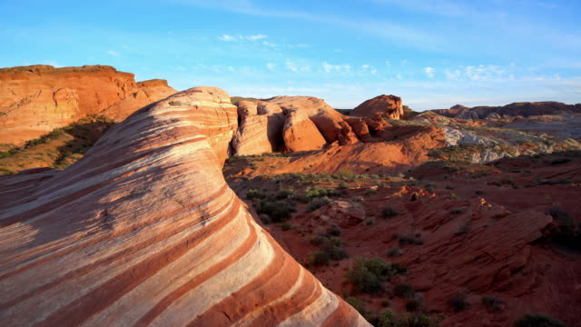 DS Beautiful sandstones at Pariah in Arizona video