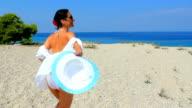 Beautiful Sandy Sea Beach video