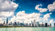 Beautiful skyline of Chicago, Illinois video