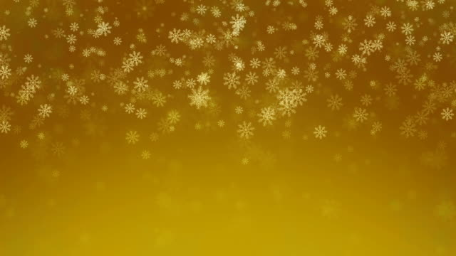 Beautiful Snowflakes, holiday background. Seamless loop video