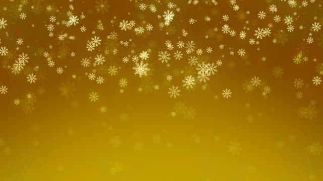 Beautiful Snowflakes - winter background. video