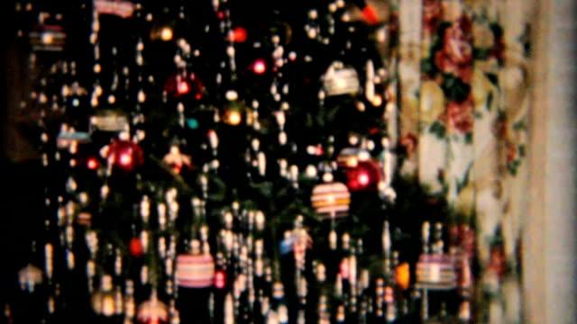 Beautiful Star On Christmas Tree-1958 Vintage 8mm film video