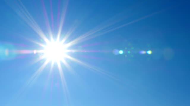 HD - Beautiful summer sun at its zenith video
