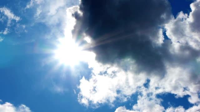 HD - Beautiful summer sun. time lapse video