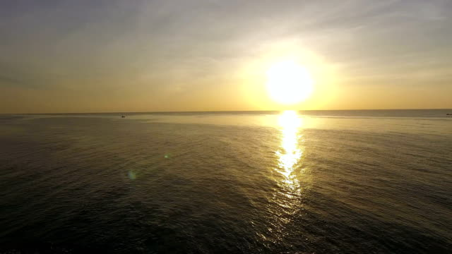 Beautiful Sunrise and Ocean in the Morning video