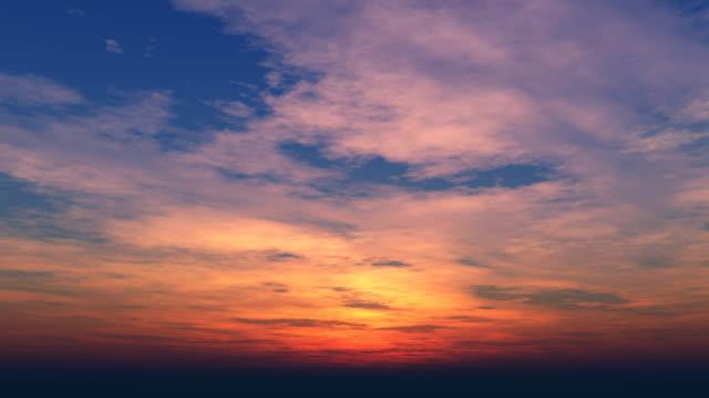 Beautiful Sunset Loop 022 video