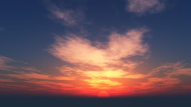 Beautiful Sunset Loop 045 video