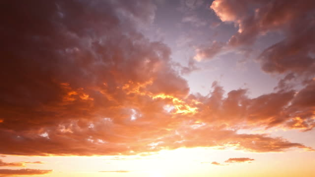 Beautiful Sunset time lapse video