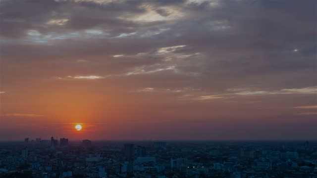 Beautiful sunset video
