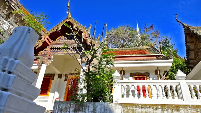 beautiful temple. video