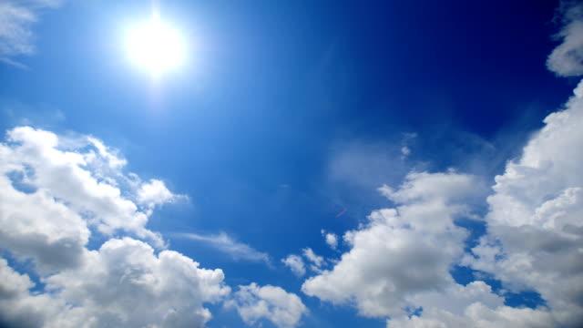 Beautiful Time lapse of cloudscape video