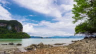 Beautiful tropical beach in Thailand video