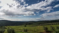 Beautiful Tuscan landscape on a spring day video