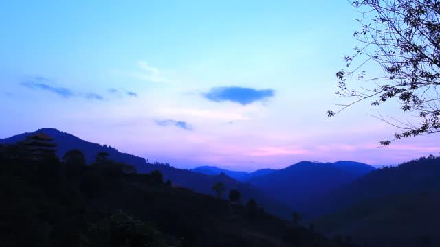 Beautiful twilight video