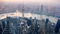 Beautiful view of Shanghai video