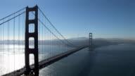 Beautiful view of the Golden Gate Bridge video