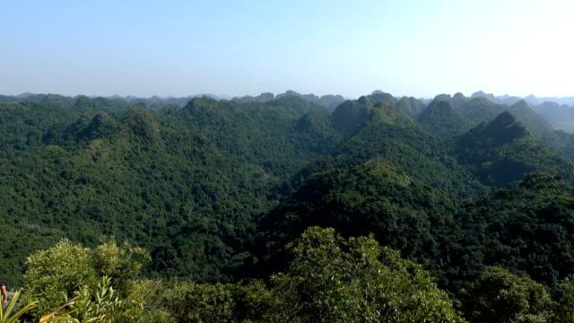 Beautiful views of Cat Ba Island video