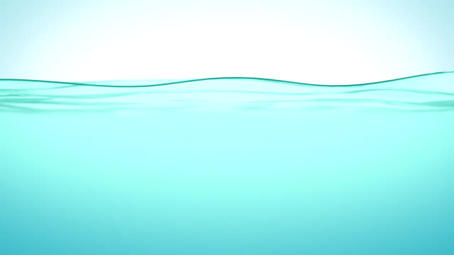 Beautiful Water surface in Slow motion. Looped animation. HD 1080. video