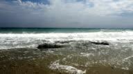beautiful waves in beach video