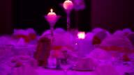 Beautiful wedding table decoration video