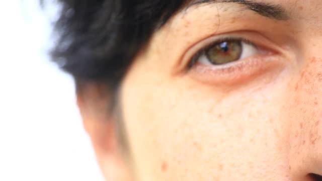 Beautiful Woman Eye, Hd Video video