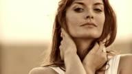 HD: Beautiful Woman In Wheat video