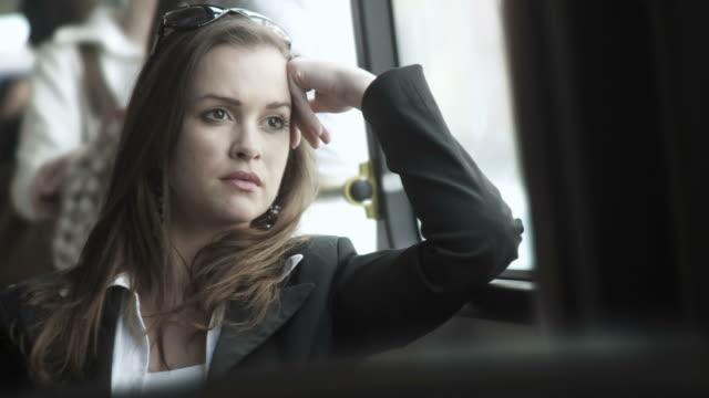 HD: Beautiful Woman Thinking video