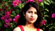 Beautiful women portrait video