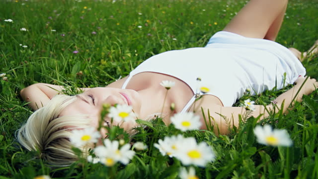 HD DOLLY: Beauty Sleep In Grass video