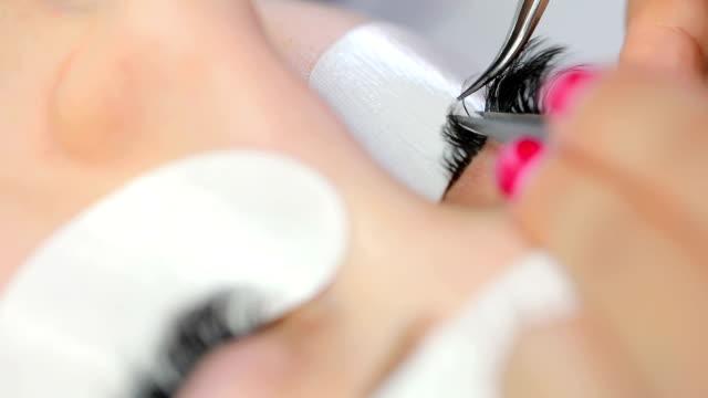 Beauty treatment in spa salon video