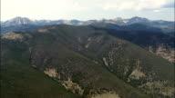Beaverhead Deerlodge National Forest  - Aerial View - Montana,  Beaverhead County,  helicopter filming,  aerial video,  cineflex,  establishing shot,  United States video