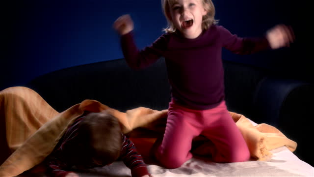 Bed Jumping Party video