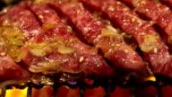 Beef BBQ yakiniku video