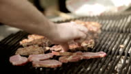 Beef on grill video