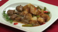 Beef Peppercorn & Potatoes HD video