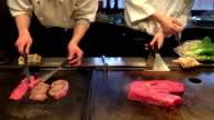 HD VDO : beef teppan on Japanese video