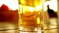 Beer glass video