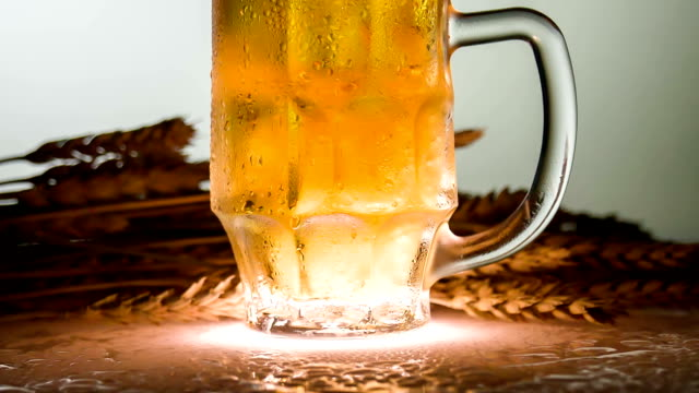 Beer is Poured Over the Edge video