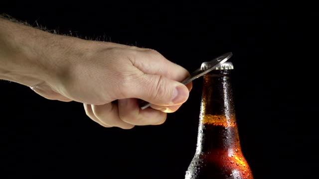 Beer Open Slow Motion video