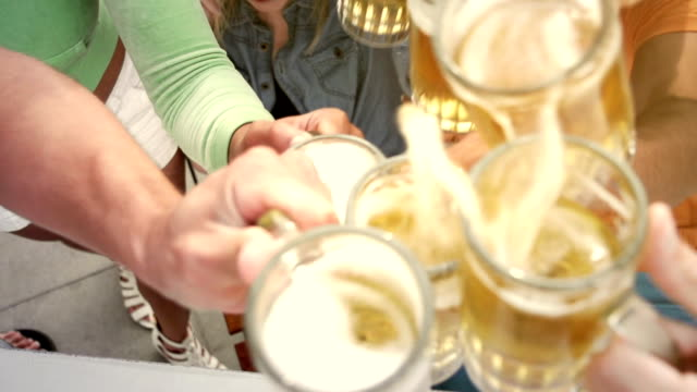 Beer Toast Friends video