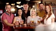 Beer toast video