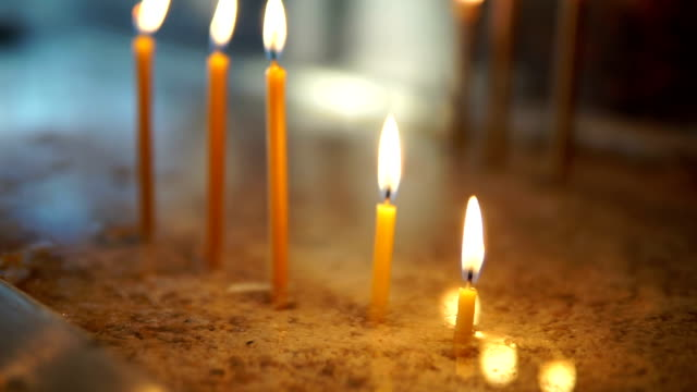 Beeswax candles video