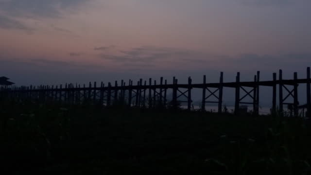 before morning U Bein Bridge video