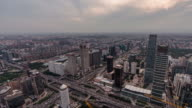 T/L WS HA PAN Beijing Central Business District and Urban Skyline at Daytime video