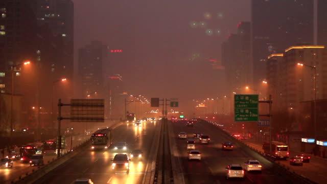 Beijing haze video