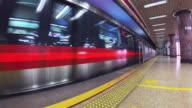 Beijing Metro, 4k footage video