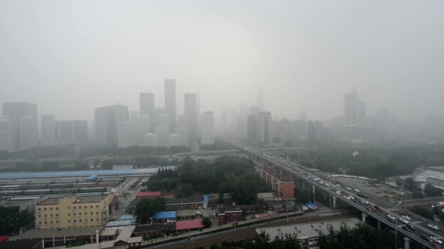 WS HA Beijing Smog and air pollution video