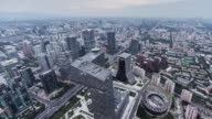 T/L Beijing Urban Skyline video