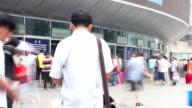 Beijing west railway station at daytime. HD. video